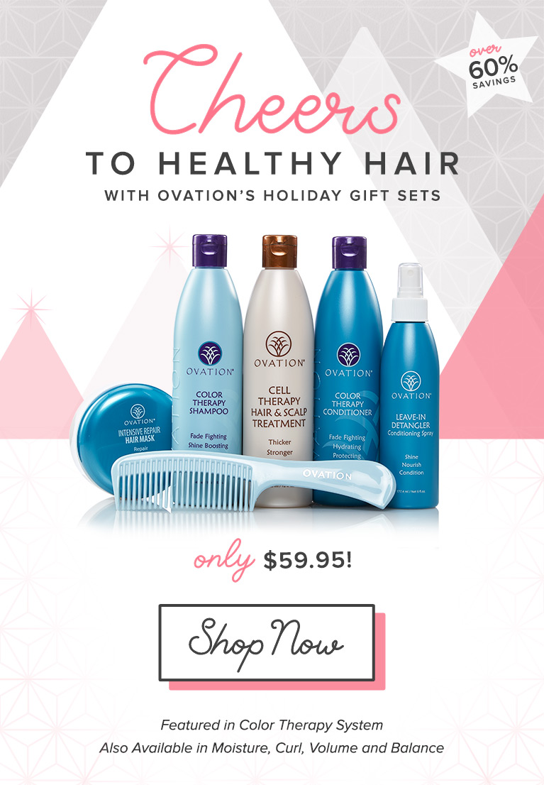 Save over 60% with Holiday Gift Sets - Now!