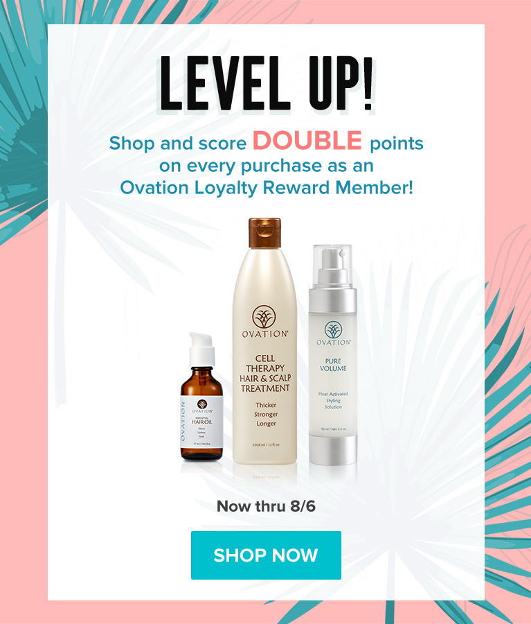 Earn Double Points - Three Days Only on All Things Healthy Hair