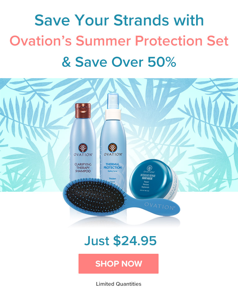 Save All Summer with Ovation Hair