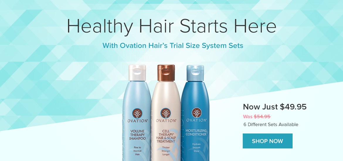 Ovation Hair Cell Therapy. Clinically Proven. Real Results.
